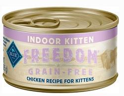 Blue Buffalo Freedom Indoor Kitten Chicken Recipe Grain-Free Canned Cat Food