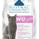 Blue Buffalo Natural Veterinary Diet W+U Weight Management + Urinary Care Grain-Free Dry Cat Food