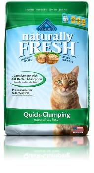 Naturally Fresh Unscented Clumping Walnut Cat Litter