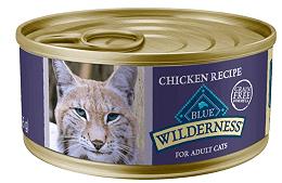 Blue Buffalo Wilderness Chicken Grain-Free Canned Cat Food