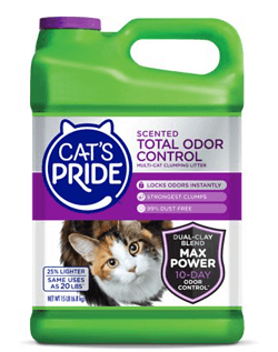 Cat's Pride Total Odor Control Scented Clumping Clay Cat Litter