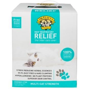 Precious Cat Respiratory Relief Cat Litter with Herbal Essences