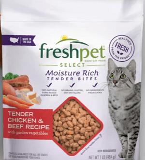 Freshpet Select Tender Chicken & Beef Recipe
