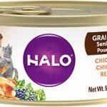 Halo Grain-Free Senior Recipe Wet Food