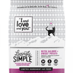 I and Love and You Lovingly Simple Limited Ingredient Diet Salmon & Sweet Potato Dry Cat Food