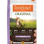 Instinct Original Kitten Grain-Free Recipe with Real Chicken Freeze-Dried Raw Coated