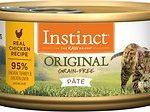 Instinct Original Grain-Free Pate Real Chicken Recipe Wet Canned Cat Food