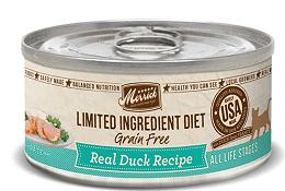 Merrick Limited Ingredient Diet Grain-Free Real Duck Pate Recipe Canned Cat Food