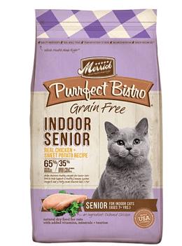 Merrick Purrfect Bistro Grain-Free Indoor Senior Recipe Dry Cat Food