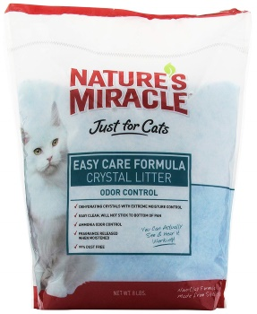 Nature's Miracle Just For Cat's Easy Care Crystal Cat Litter