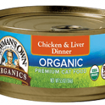 Newman's Own Organic Chicken & Liver Dinner Canned Food
