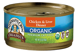 Newman's Own Organics Chicken & Liver Dinner For Cats