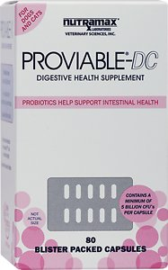 Nutramax Proviable-DC Capsules Dog & Cat Supplement