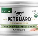 PetGuard Organic Chicken & Vegetable Formula Wet Cat Food