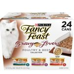 Fancy Feast Gravy Lovers Poultry & Beef Feast Variety Pack Canned Cat Food
