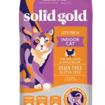 Solid Gold Let's Stay In Chicken, Lentil & Apple Recipe Adult Grain-Free Indoor Dry Cat Food