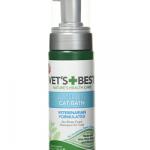Vet's Best Waterless Cat Bath | No Rinse Waterless Dry Shampoo for Cats