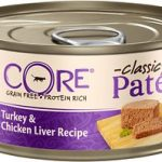 Wellness CORE Natural Grain Free Turkey & Chicken Liver Pate Canned Kitten Food