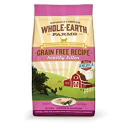 Whole Earth Farms Grain-Free Healthy Kitten Recipe Dry Cat Food