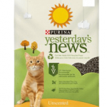 Yesterday's News Original Unscented Non-Clumping Paper Cat Litter