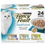 Purina Fancy Feast Grilled Seafood Wet Cat Food Variety Pack