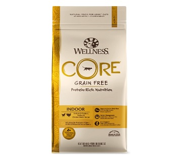 Wellness CORE Grain-Free Indoor Formula Dry Cat Food, 2 Pound Bag